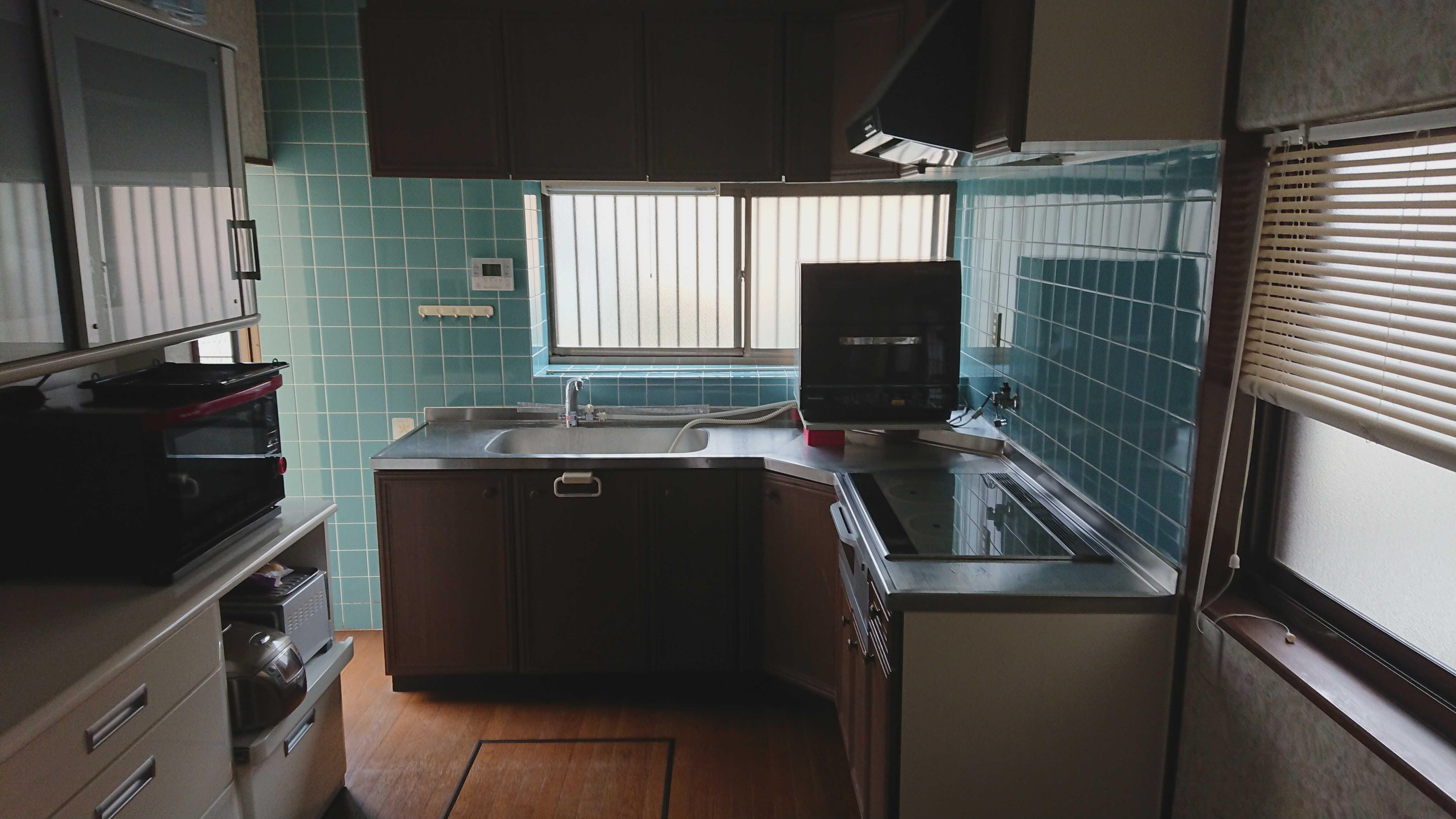 オール電化のヒシダデンキ キッチンリフォーム工事